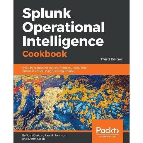 Splunk Operational Intelligence Cookbook - by  Josh Diakun & Paul R Johnson & Derek Mock (Paperback) - image 1 of 1