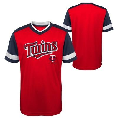 MLB Minnesota Twins Boys' Sublimated Pullover