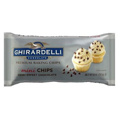 Ghirardelli Chocolate Semi Sweet Mini Chips -10oz