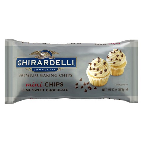 Ghirardelli Chocolate Semi Sweet Mini Chips -10oz - image 1 of 1