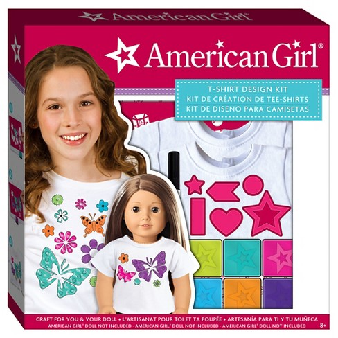 American Girl T-shirt Design Kit - image 1 of 3