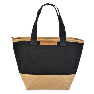 Out of the Woods Mini Shopper Lunch Tote - Black