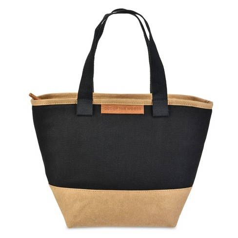 Out of the Woods Mini Shopper Lunch Tote - Black - image 1 of 4