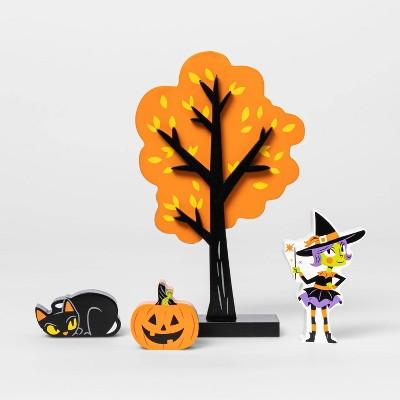 Mini Mantel Halloween Decorative Set Accessories - Hyde & EEK! Boutique™