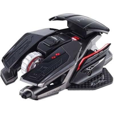 Mad Catz The Authentic R.A.T. PRO X3 Gaming Mouse, Black ( MR05DCINBL01 )