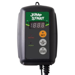 Jump Start MTPRTC Hydroponic Seedling Heat Mat Digital Thermostat Controller