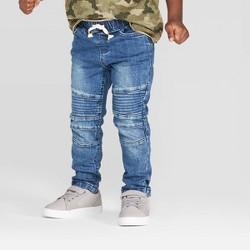 Toddler Boys' Moto Denim Pants - art class™ Blue