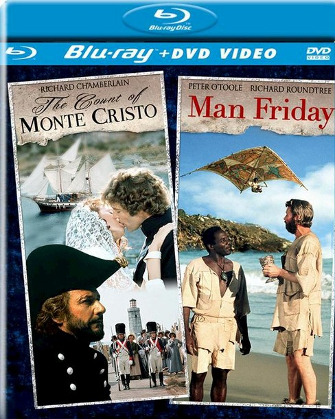 Count of monte cristo/Man friday (Blu-ray) - image 1 of 1