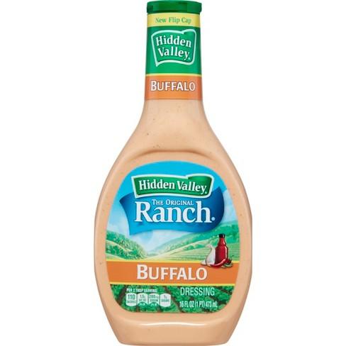 Hidden Valley Buffalo Ranch Salad Dressing & Topping - Gluten Free - 16oz Bottle - image 1 of 4