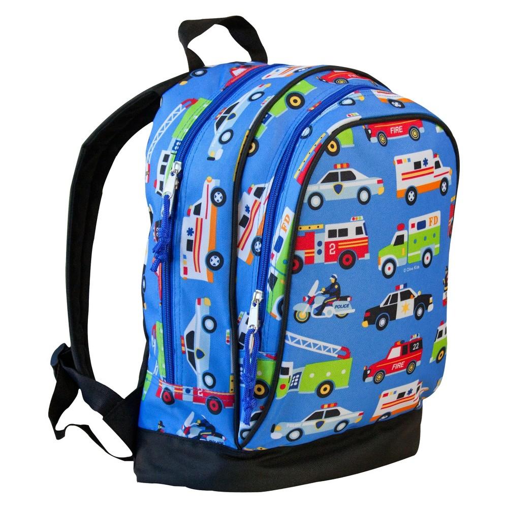 Wildkin Olive Heroes Sidekick Kids' Backpack - Blue