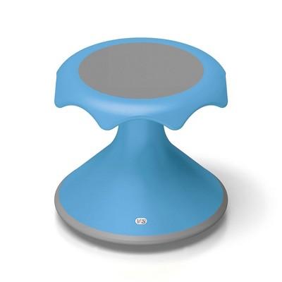 "VS America Hokki Stool Flexible Ergonomic Seating - 12"" Light Blue"
