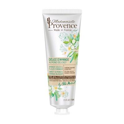 Mademoiselle Provence Almond and Orange Blossom Hand Cream - 2.5 fl oz