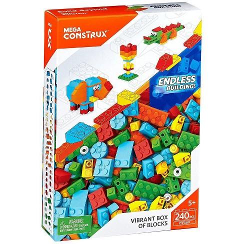 Mega Construx Vibrant Box of Blocks Set - image 1 of 3