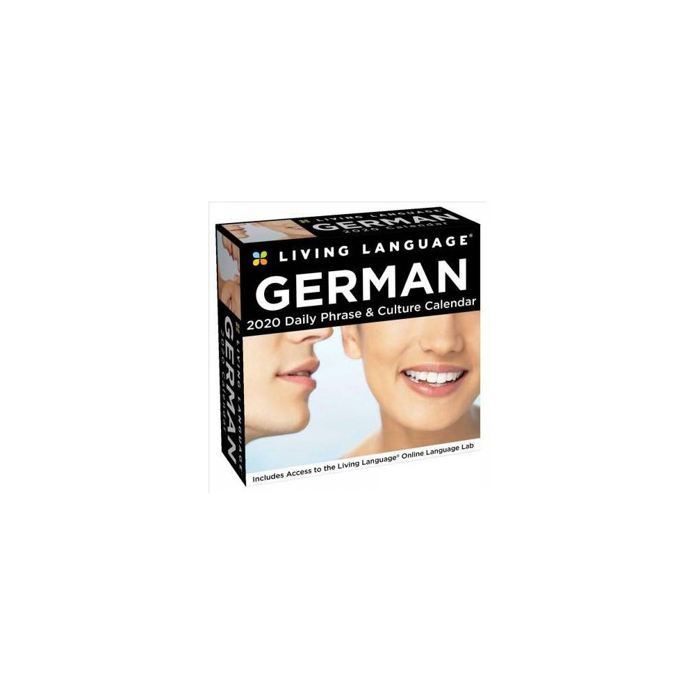 Living Language - German 2020 Calendar - (Paperback)