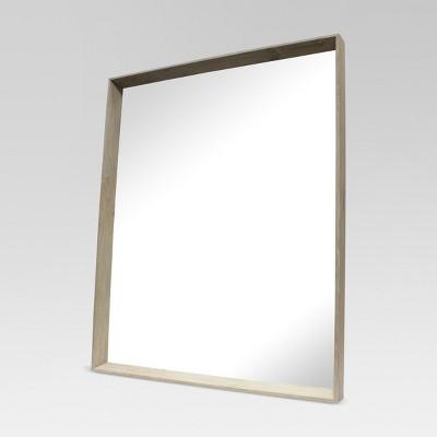 Rectangular Ash Decorative Wall Mirror - Project 62™