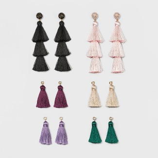 SUGARFIX by BaubleBar Mix and Match Tassel Earring Gift Set