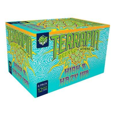 Terrapin High & Hazy IPA Beer - 6pk/12 fl oz Cans