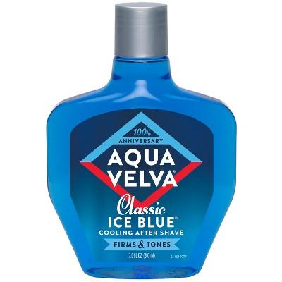 Aqua Velva Classic Ice Blue Cooling Aftershave - 7 fl oz