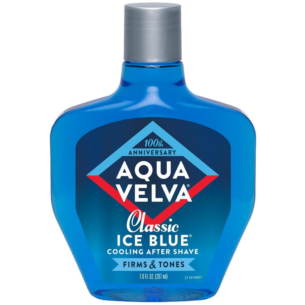 Image of Aqua Velva Classic Ice Blue Cooling Aftershave - 7 fl oz
