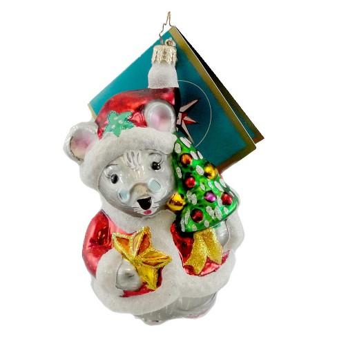 Christopher Radko Mousie Claus Ornament Christmas Mouse Santa - image 1 of 2