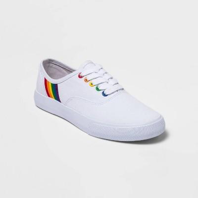 Pride Gender Inclusive Adult Sneakers - White