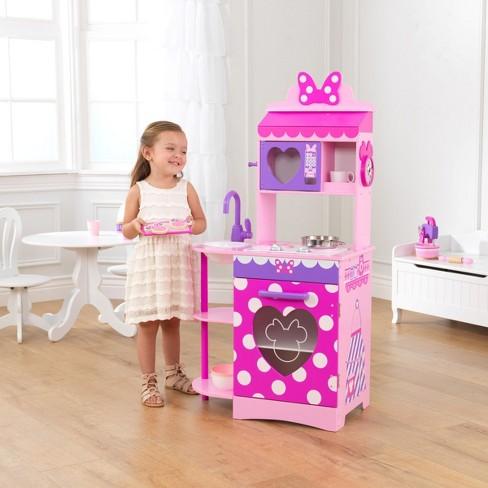 kidkraft disney jr minnie mouse toddler kitchen target - Toddler Kitchen
