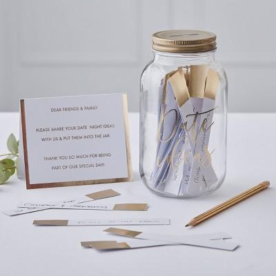 """""""Date Jars"""" Guest Book"""
