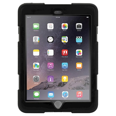 Griffin Survivor All Terrain Cover for iPad Air 2  Black - image 1 of 2