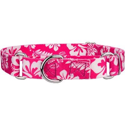Country Brook Petz® Pink Hawaiian Martingale Dog Collar