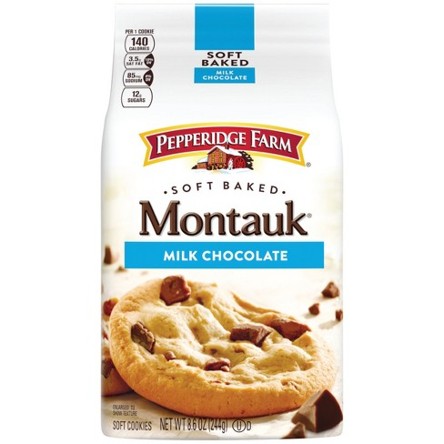 Pepperidge Farm® Montauk® Soft Baked Milk Chocolate Cookies, 8.6oz Bag - image 1 of 6