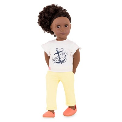 Our Generation Regular Doll with Beach Outfit - Ayeesha