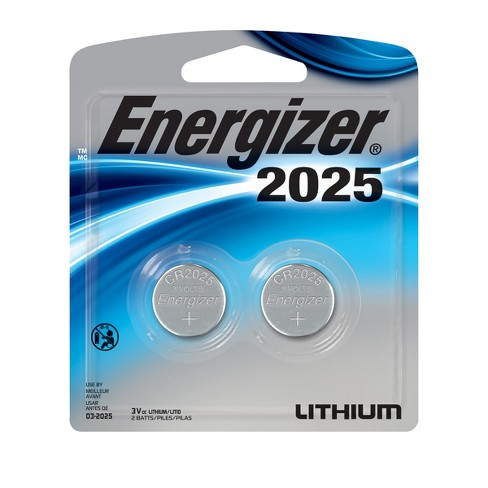 Energizer 2025 Coin Lithium Batteries 2 ct (2025BP-2) - image 1 of 1