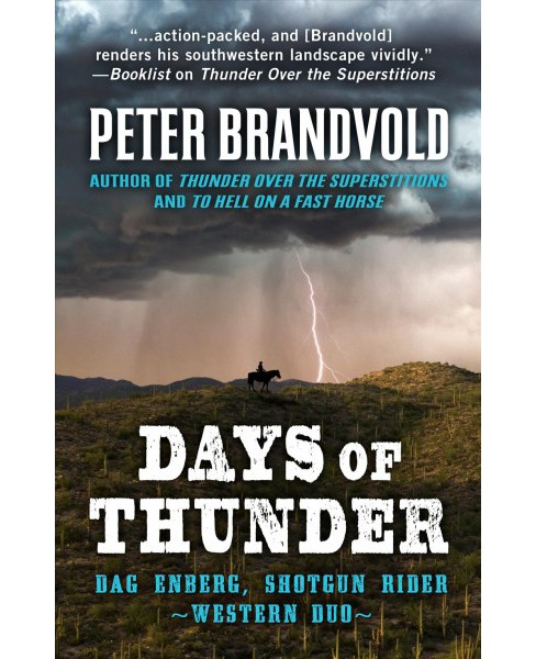 Days of Thunder : A Western Duo -  Large Print by Peter Brandvold (Paperback) - image 1 of 1