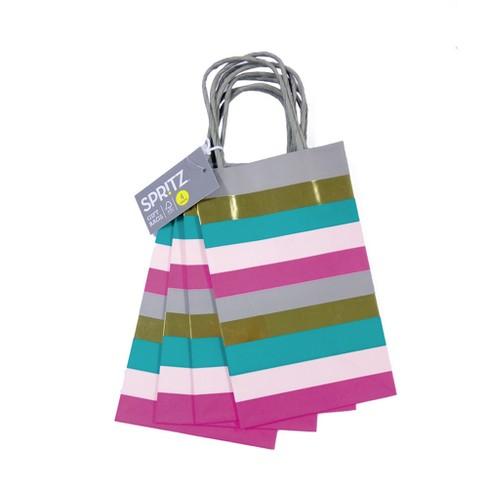060496b317 4ct Stripes Tote Bags - Spritz™   Target