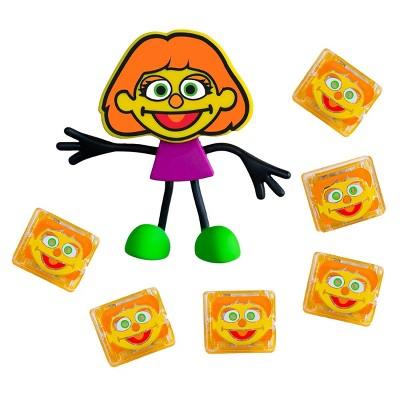 Glo Pals Sesame Street Character Julia & 6 Light Up Water Cubes