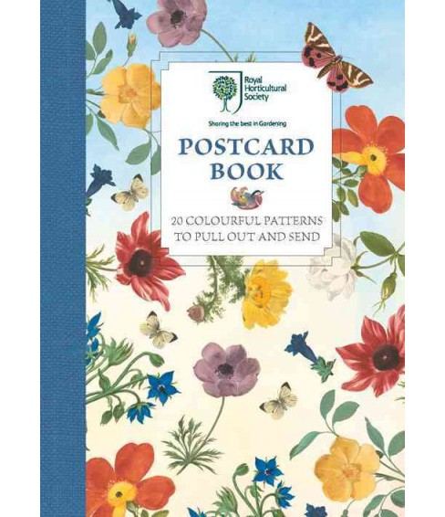 Royal Horticultural Society Postcard Book : 20 Colourful Patterns to Pull Out and Send (Stationery) - image 1 of 1