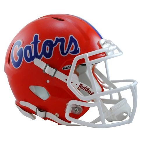 c33b33292358 NCAA Florida Gators Riddell Speed Authentic Helmet - Orange