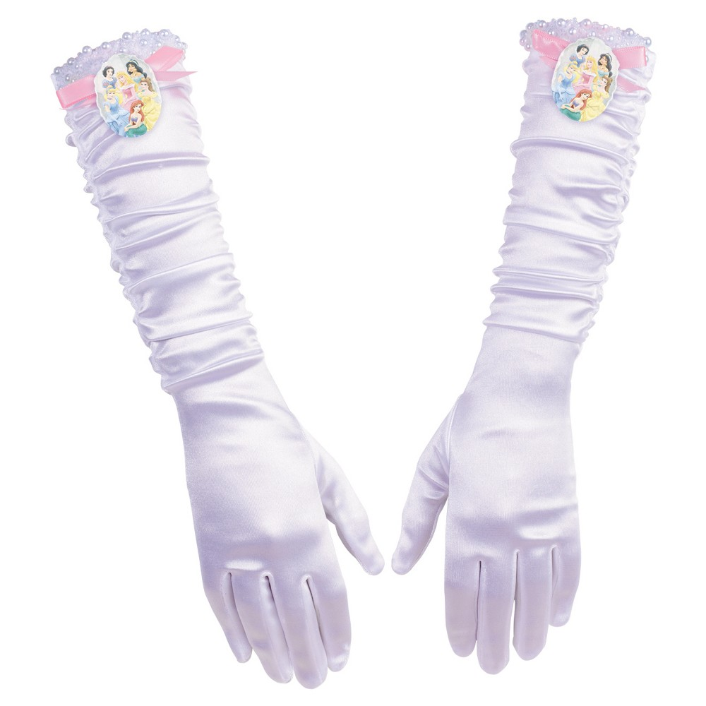 Princess Full Length Gloves - One Size, Women's, Multi-Colored