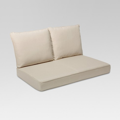 Rolston 3pc Outdoor Replacement Loveseat Cushions Grand Basket