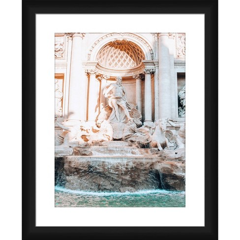 Fountain Framed and Matted Print - PTM Images - image 1 of 2