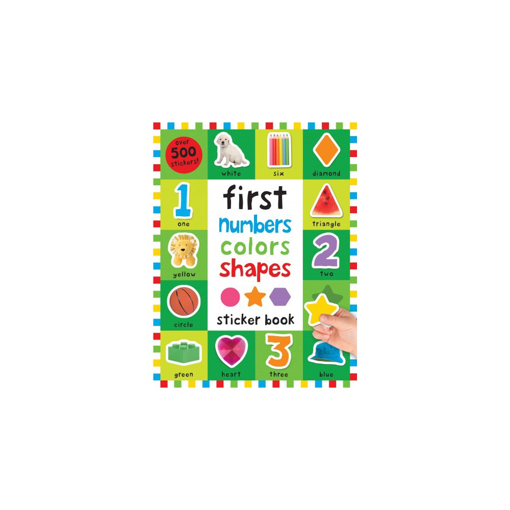 First 100 Numbers, Colors, Shapes Sticker Book (Paperback) (Nicola Friggens & Robyn Newton & Kate Ward)