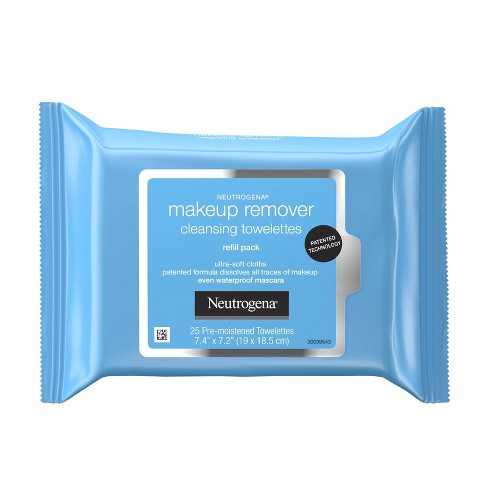 Neutrogena Makeup Remover Cleansing Towelettes & Face Wipes - 25ct - image 1 of 4