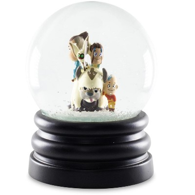 Surreal Entertainment Avatar: The Last Airbender Snow Globe Collectible Display Piece | 6 Inches Tall