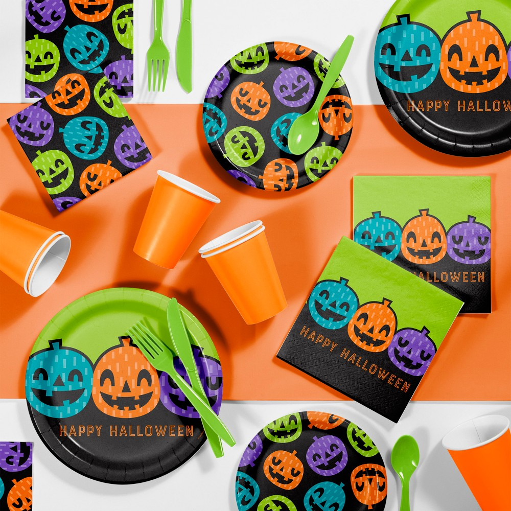 Playful Pumpkins Halloween Party Supplies Kit