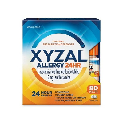 Xyzal¨ Allergy Relief Tablets - Levocetirizine