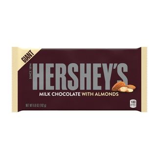 Hershey's Milk Chocolate with Almonds Giant Bar - 6.8oz