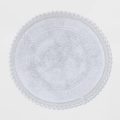 Round Bath Rug White - Opalhouse™