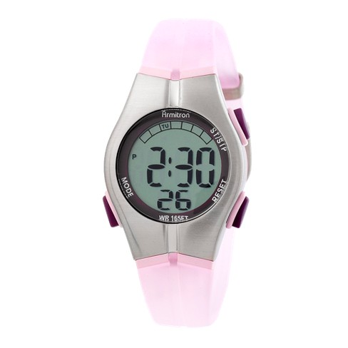Women's Armitron Large Digit LCD Sport Watch - Pink - image 1 of 1
