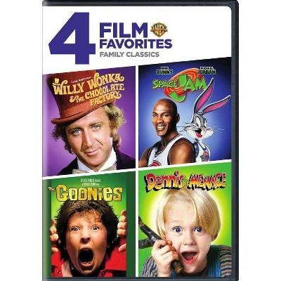 4 Film Favorites: Family Classics (DVD)(2017)