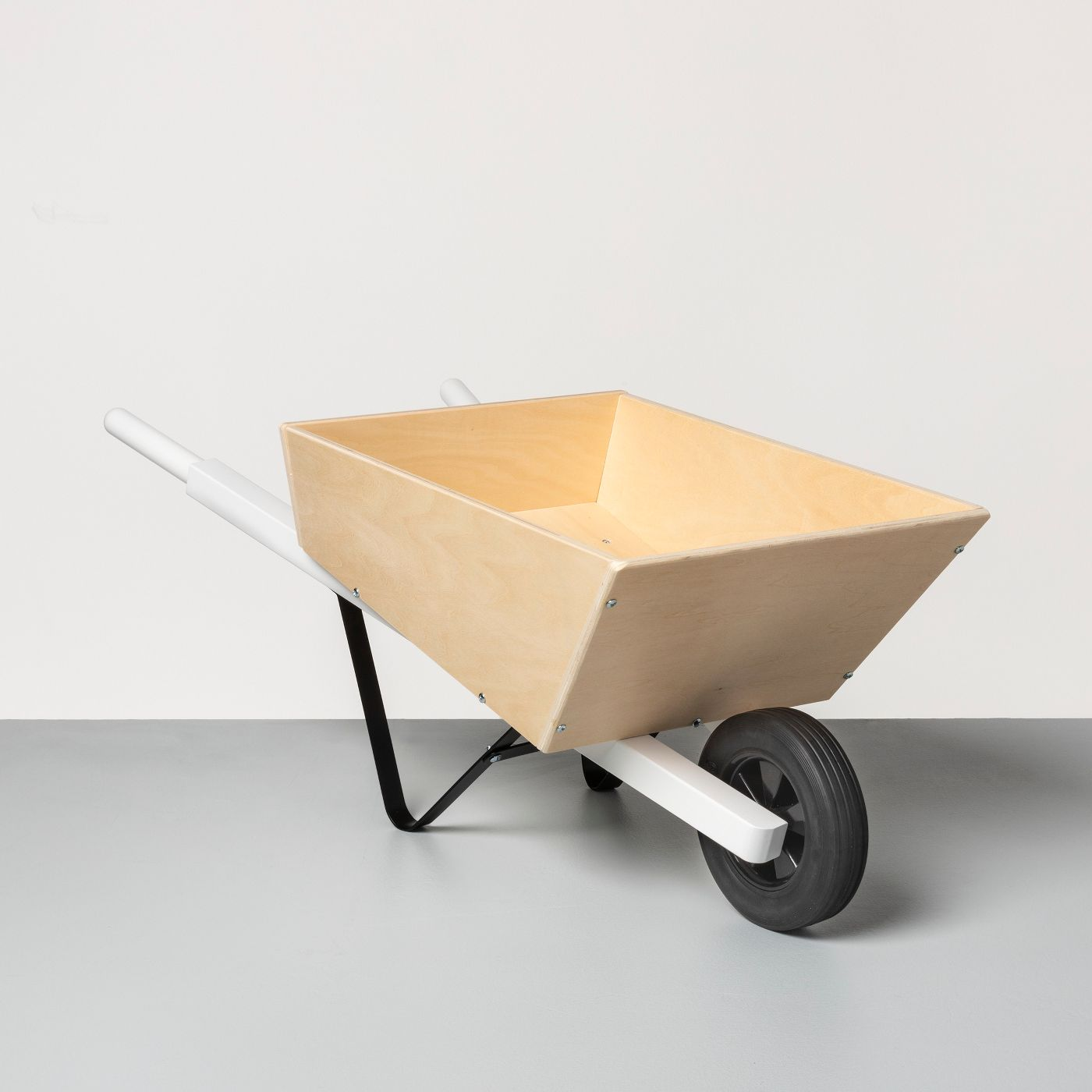 Wooden Toy Wheelbarrow - Hearth & Hand™ with Magnolia - image 1 of 1